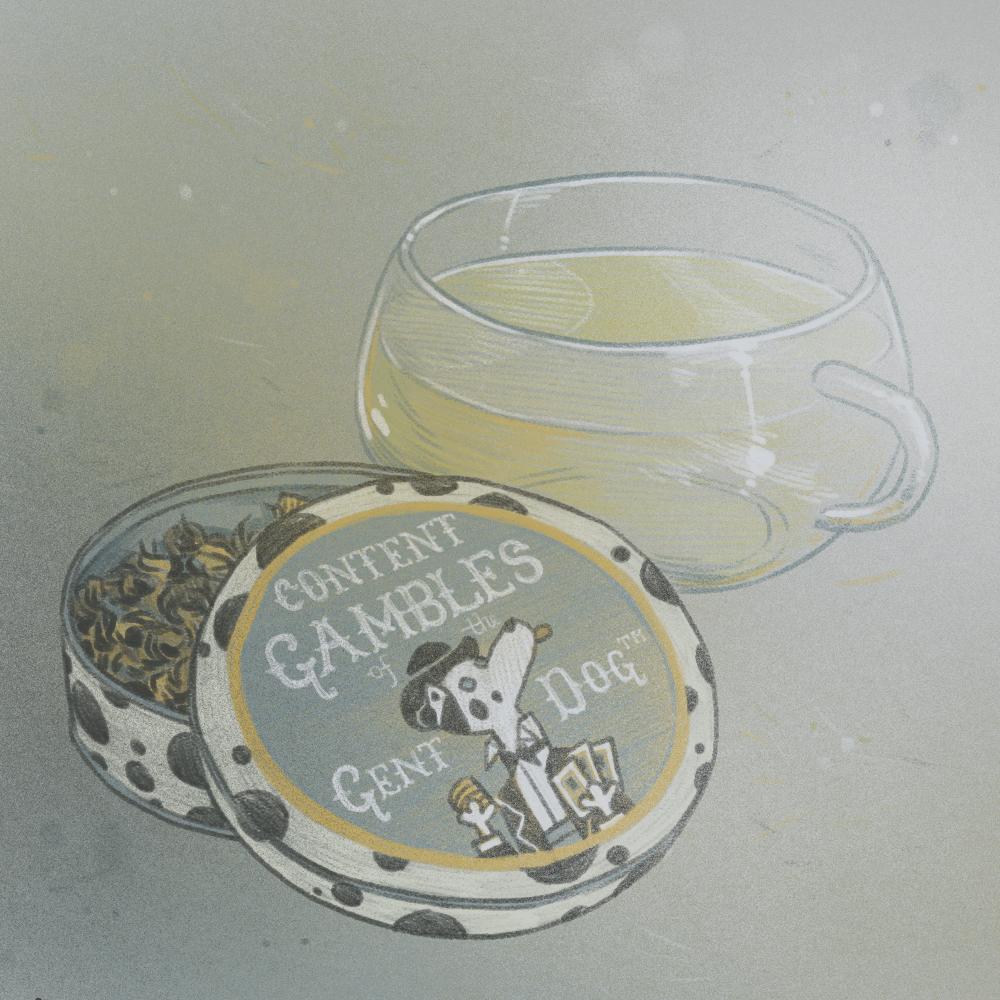 Random Tea Generator: Dog Gambles!