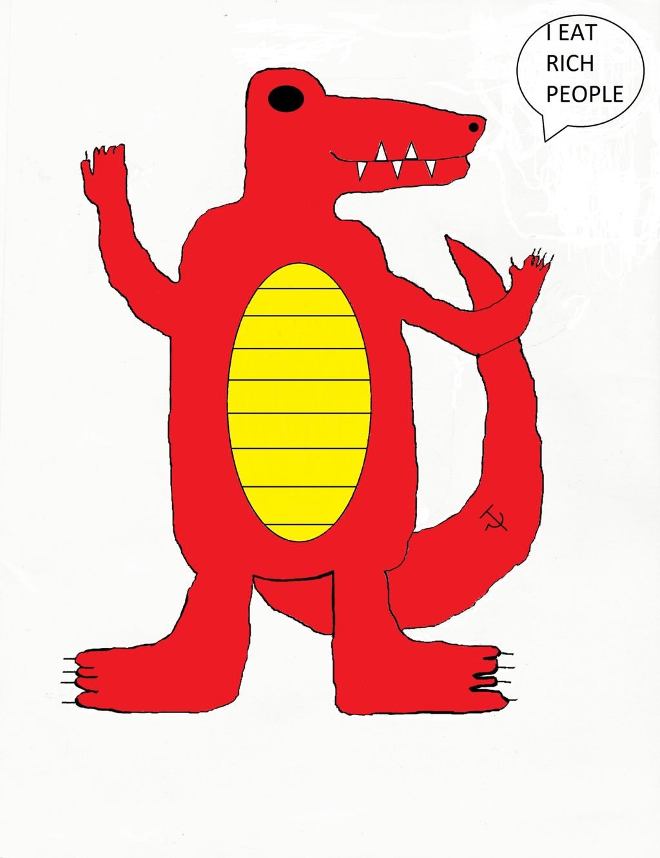Most recent image: Marxist Crocodile