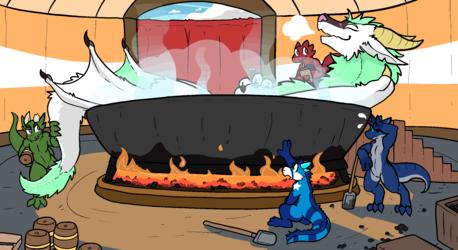 The Drakeshead Spa & Inn: Heated Tub