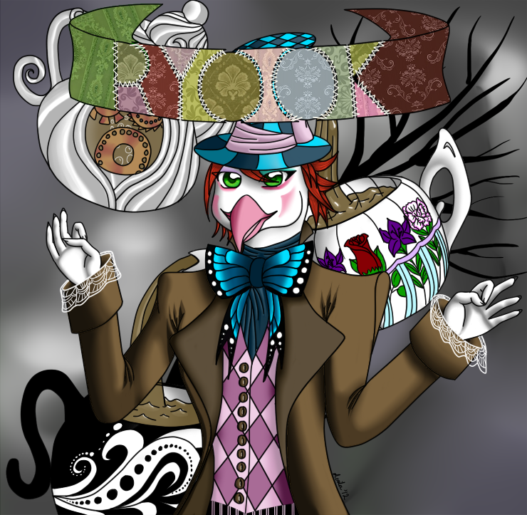 Most recent image: Ryook as the Mad Hatter