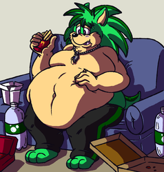 Commission - Neo Chows Down