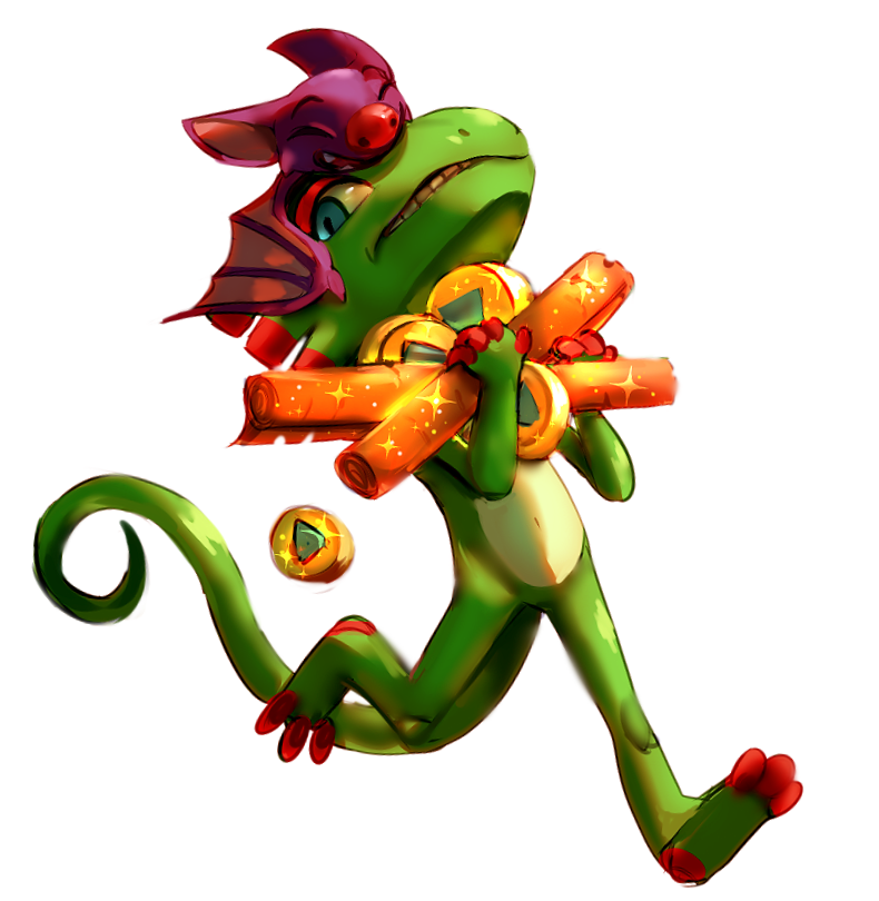 Most recent image: Yooka Laylee