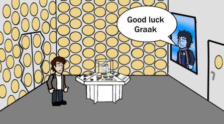 Good luck Graak