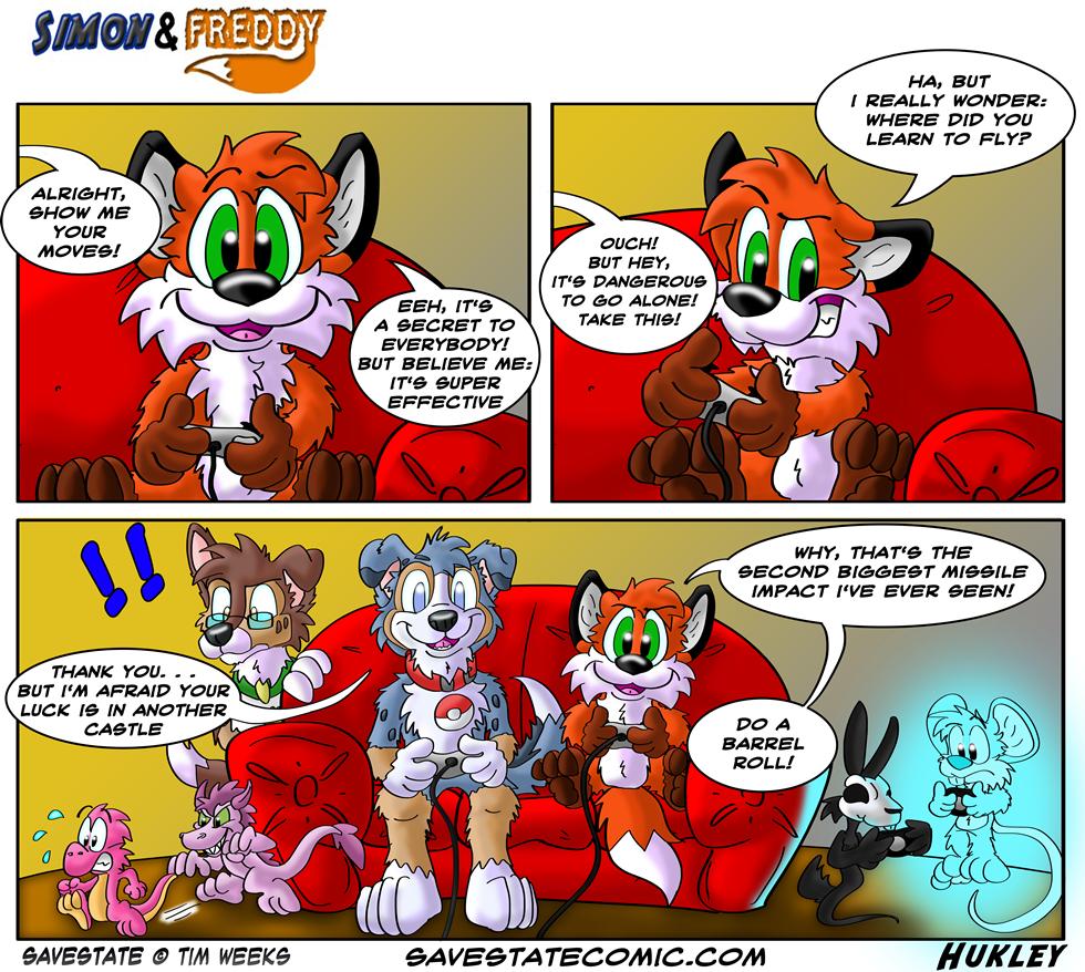 Simon and Freddy - 88 - Savestate