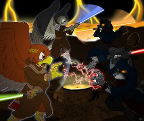 Duel of the Furries.
