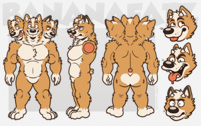 BananaFatz - Reference Sheet [Commission]