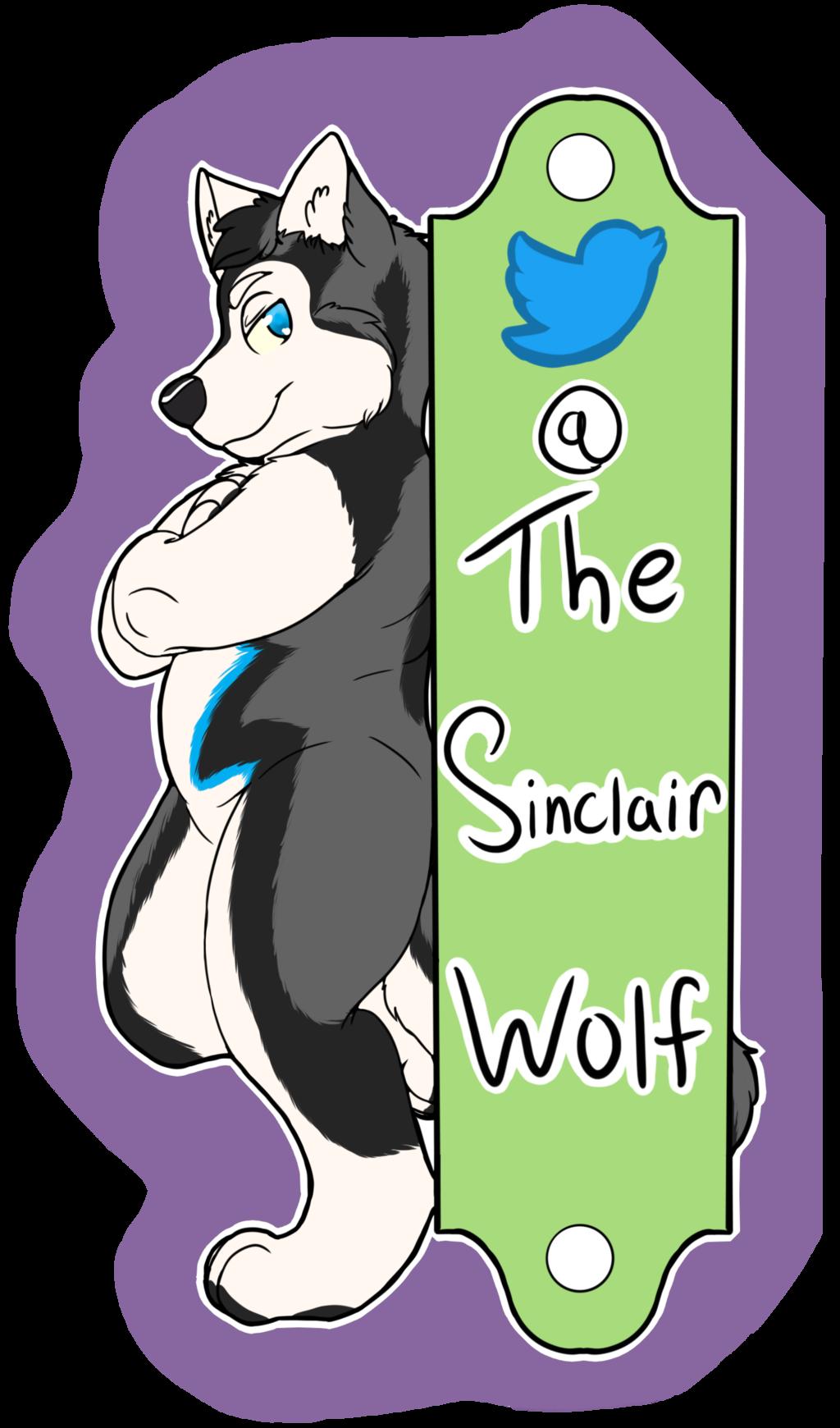 [C] Sinclair fullbody sticker!