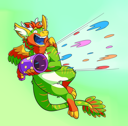 Party Dragon!