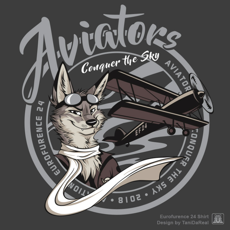 Eurofurence 24 shirt - Aviators