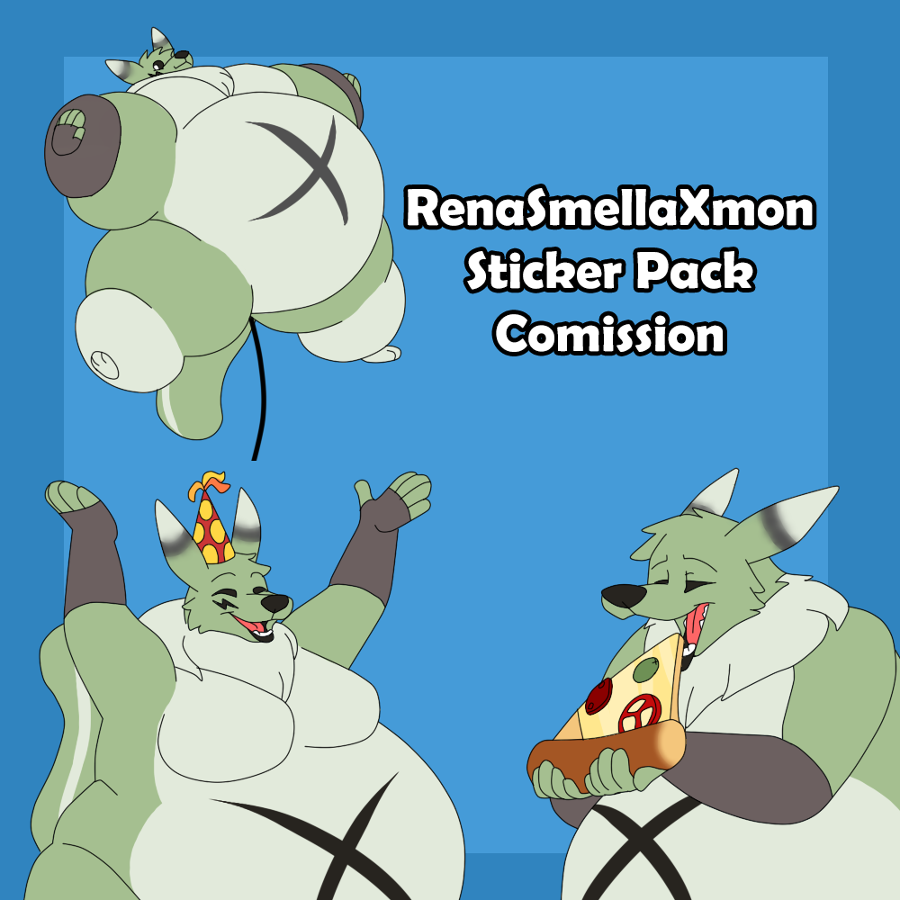 RenaSmellaXmon Sticker Pack Comission