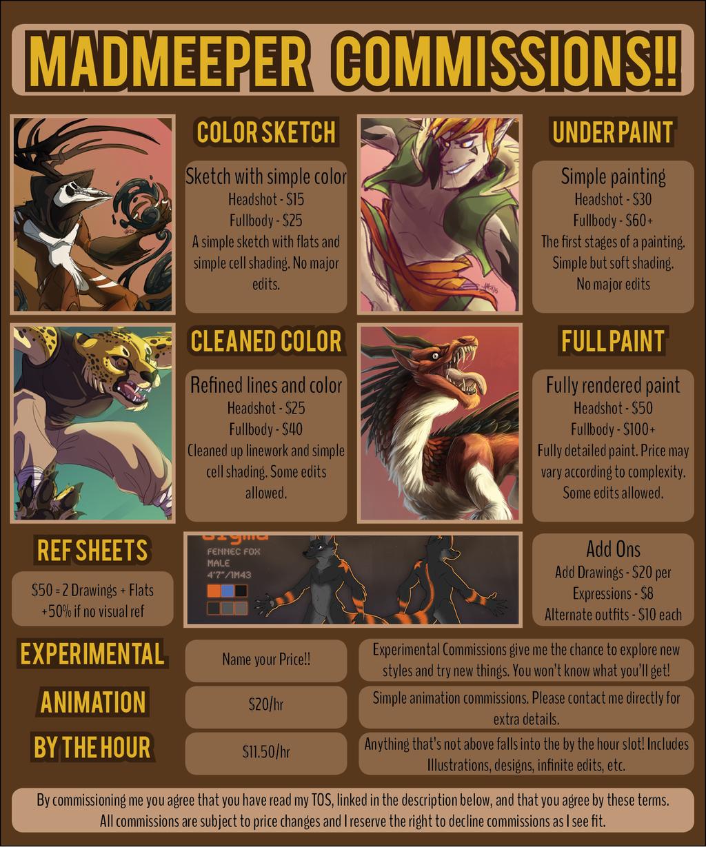 Jan 2016 Commission Info