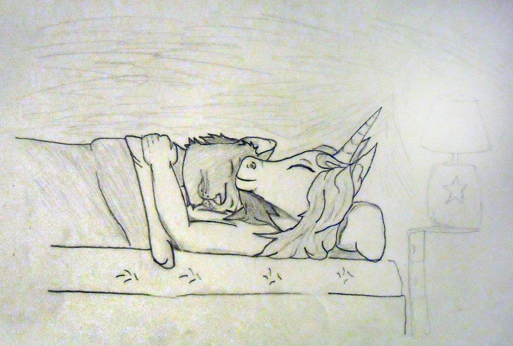 Cuddling Amethyst