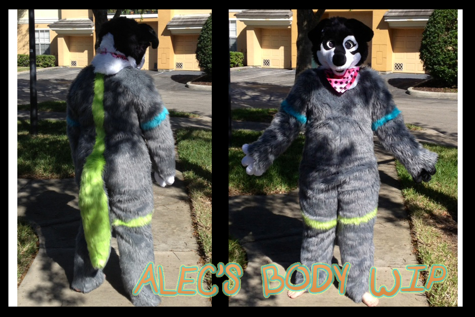 Alec's Body WIP