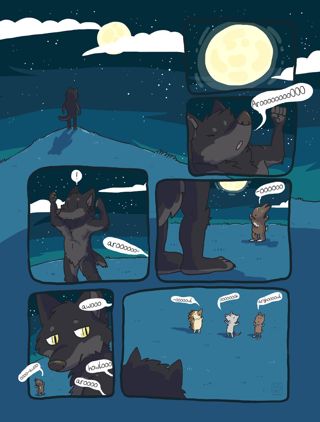 Were-Critters [comic]