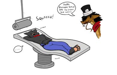 "Birthday Gift: ""Servo's Surprise Massage...?"" - Page 6"