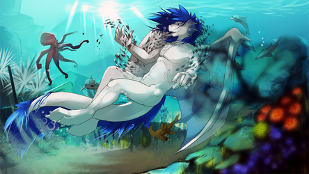 Rooth's underwater adventure -- by noswift