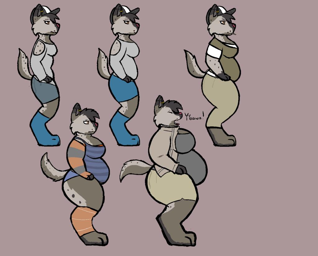 Aug 10 - Hyena Weight Gain