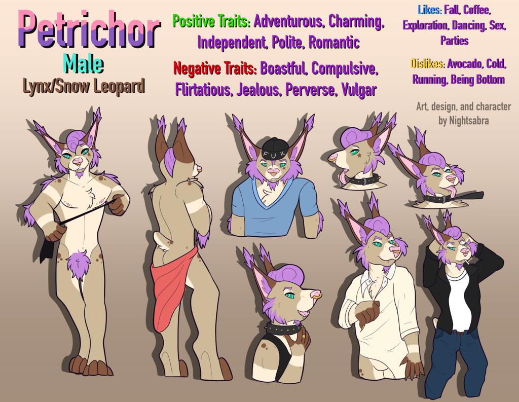 [P]Petrichor Character Sheet
