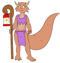 Kobold Adventurer with Lantern