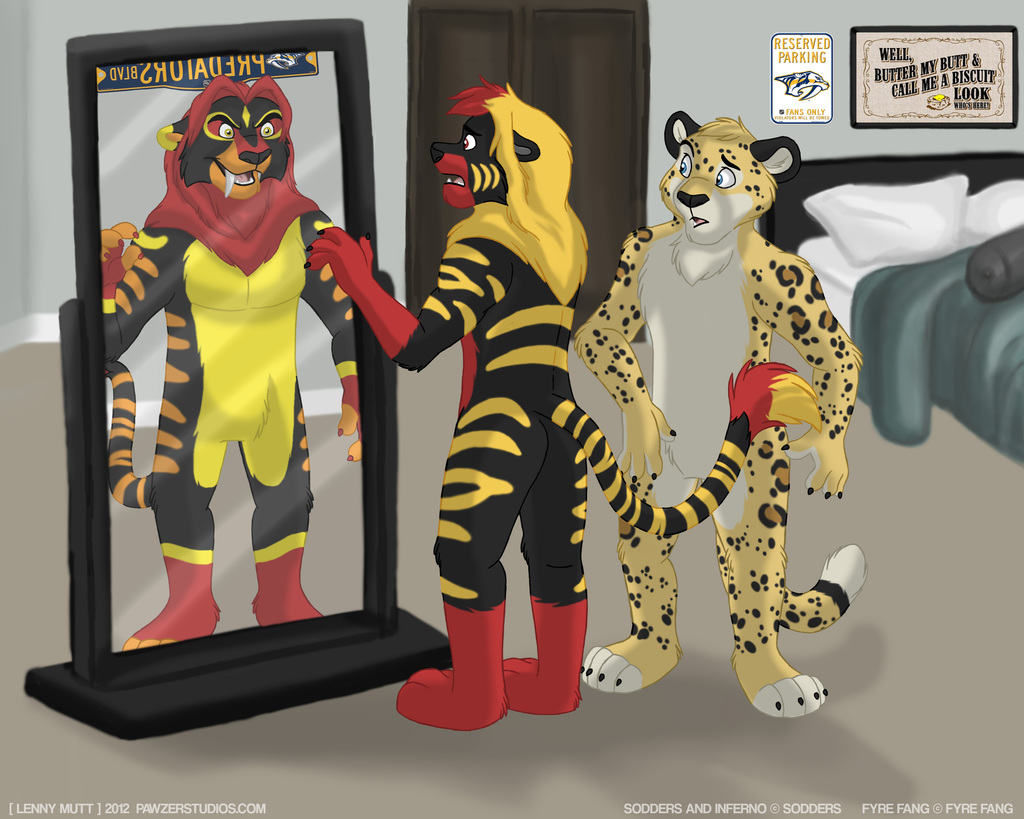 The Two Sides of Sodders - Reflections. By LennyMutt!