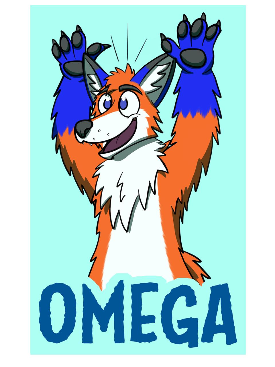 MFF 2018 badge commission for Omega814!
