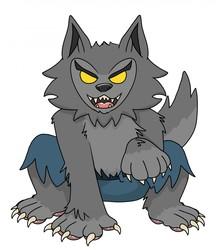 Werewolf Sticker Art