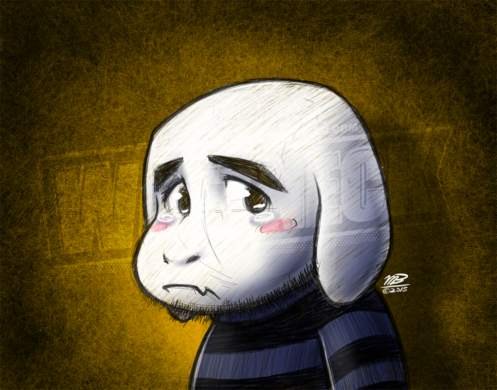 """""""Draw yourself as an Undertale character you relate to"""""""
