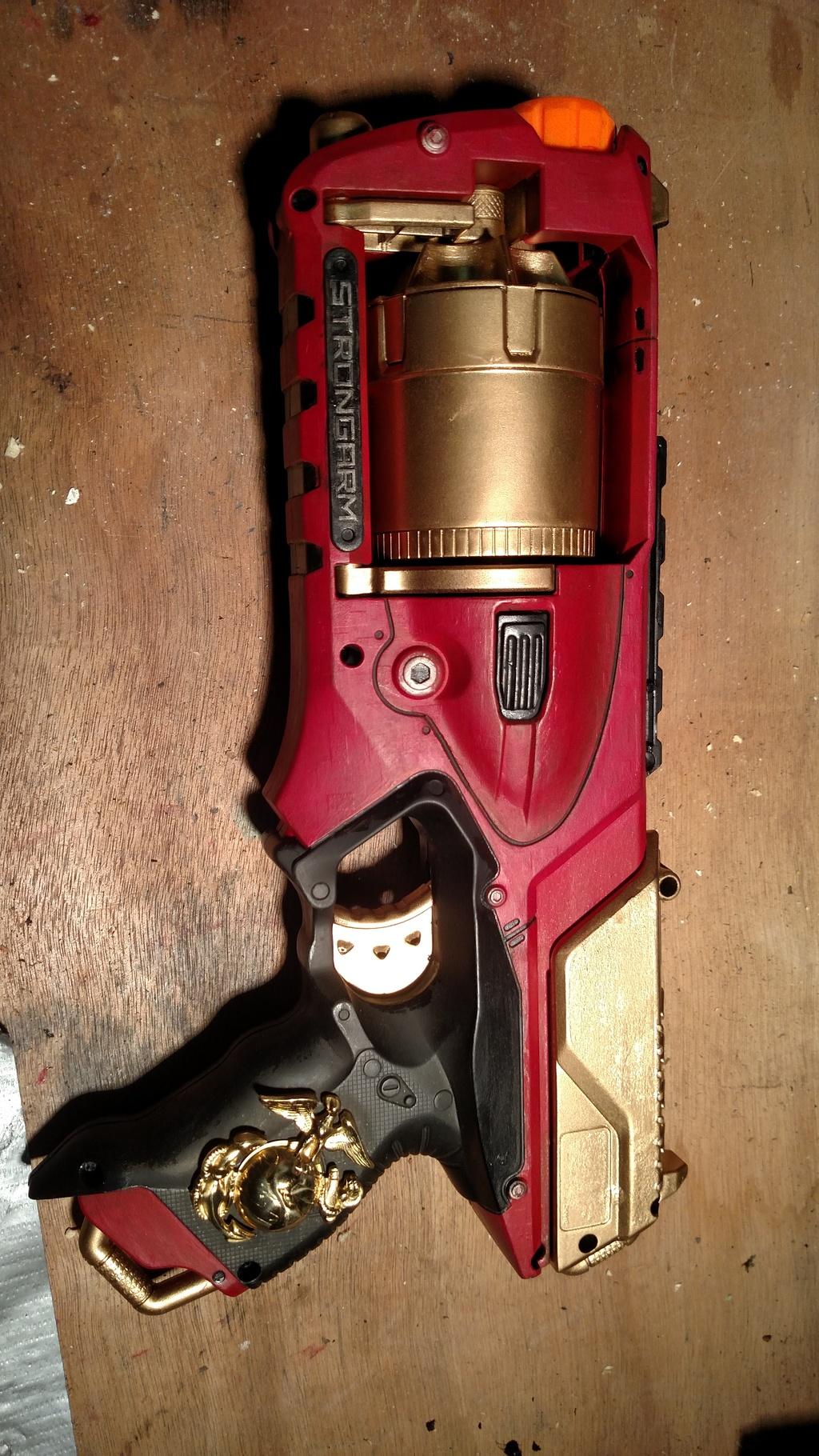 "Nerf Strongarm ""Marine's Side Arm"""