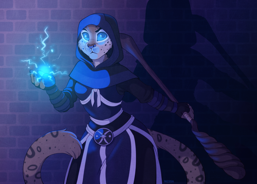 Mage - Commission