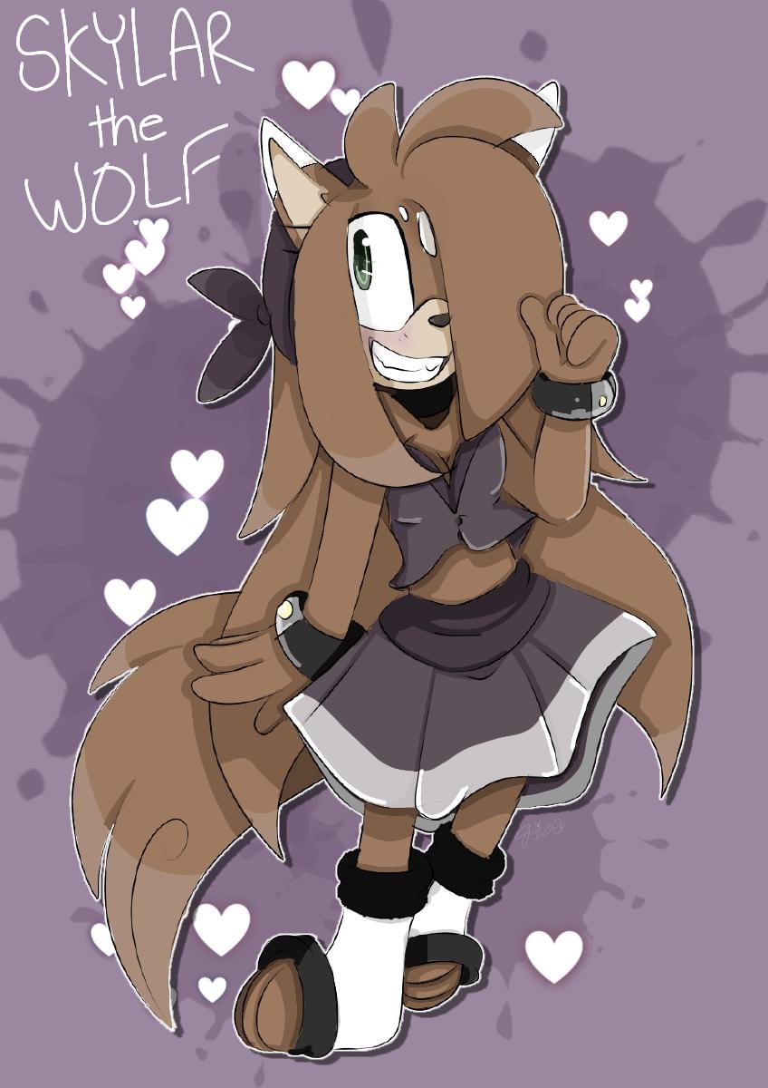 Skylar the wolf