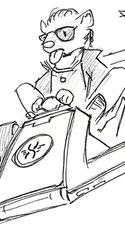 Korps visit - Sketch page 1