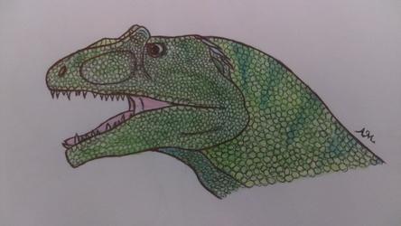 Allosaurus Headshot