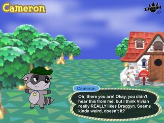 Cameron: Animal Crossing Style