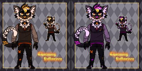 Charming Halloween Feline [OPEN]
