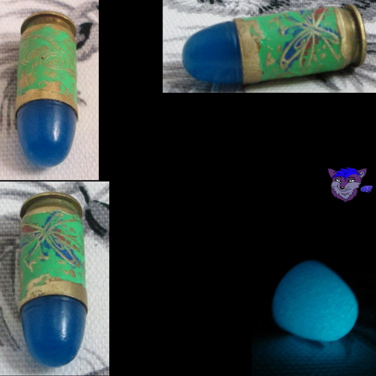 Dragonfly 45 w/Glowing Blue Bullet