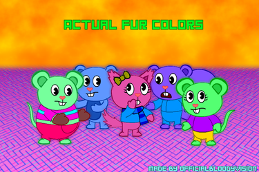 Actual And Natural Fur Colors (Actual Version)