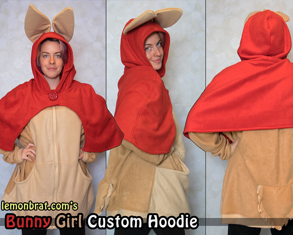 Bunny Girl Custom Hoodie