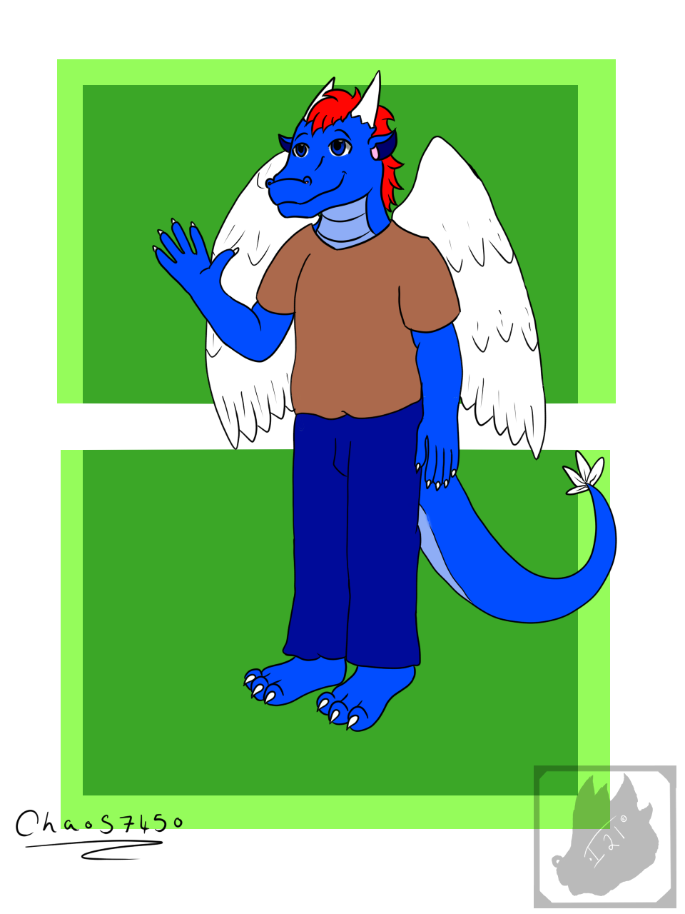 Feathery Wings! [gift]