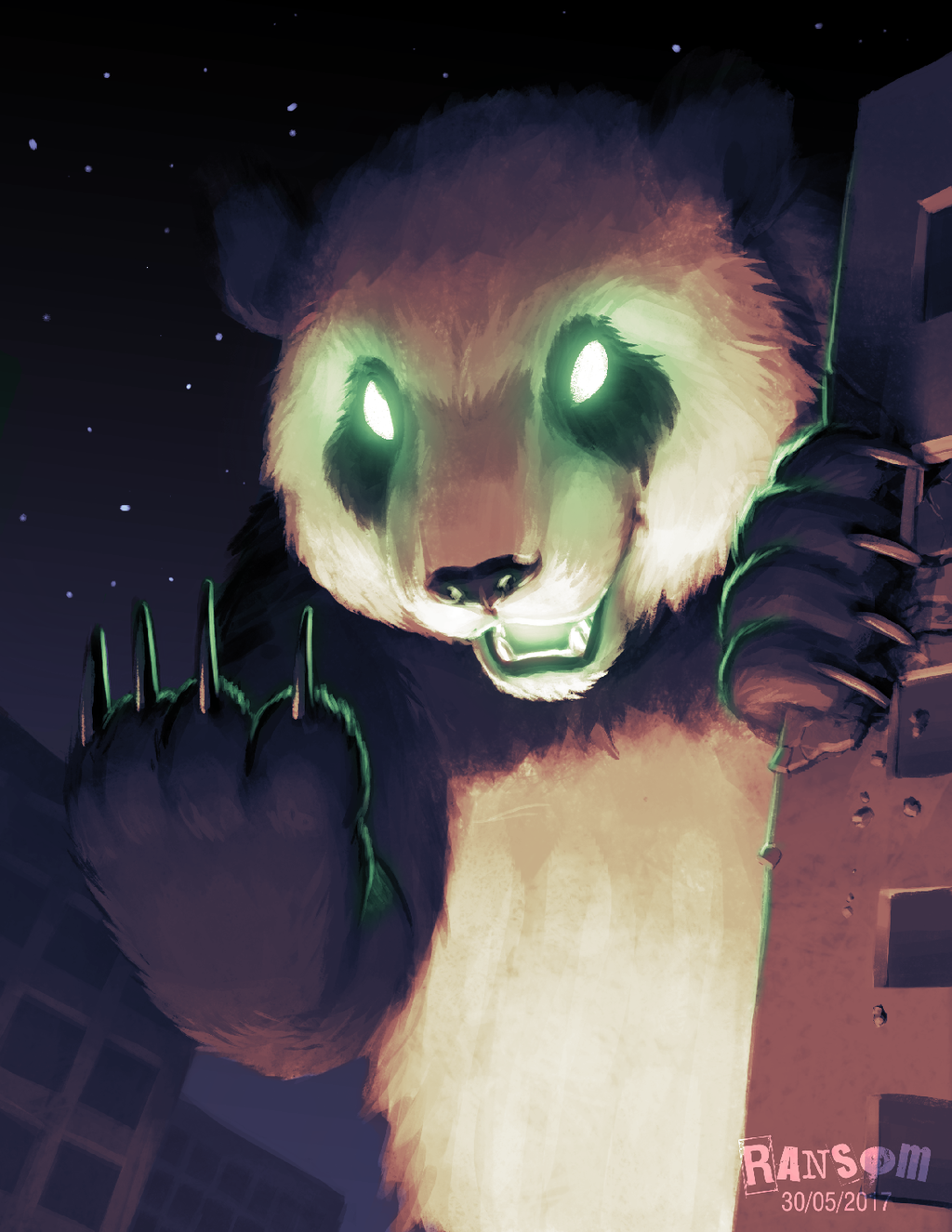 Most recent image: Revenge of the Gigantic Panda