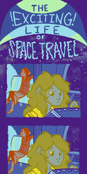 The exciting life of space travel!