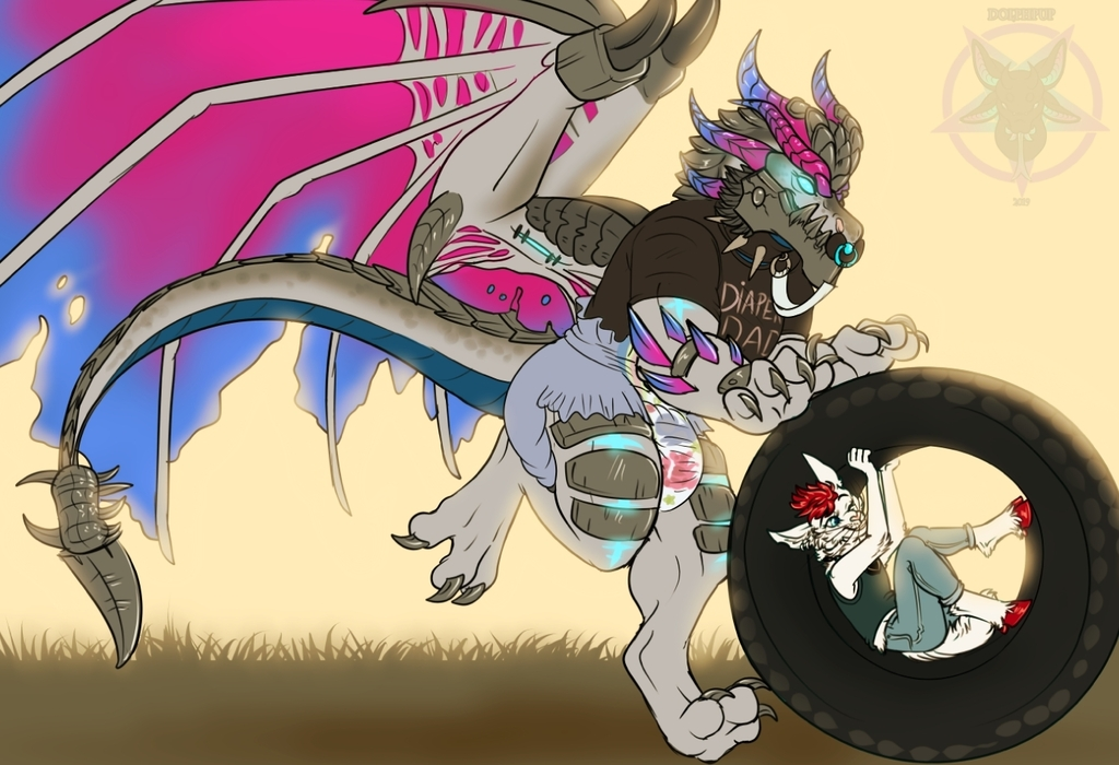 Rolling Tires - by Dolphpup