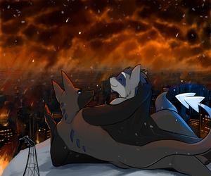 An evening by the fire