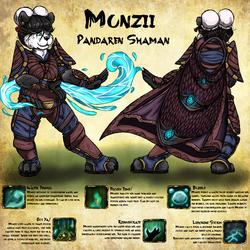 Munzii Firebelly Character Page