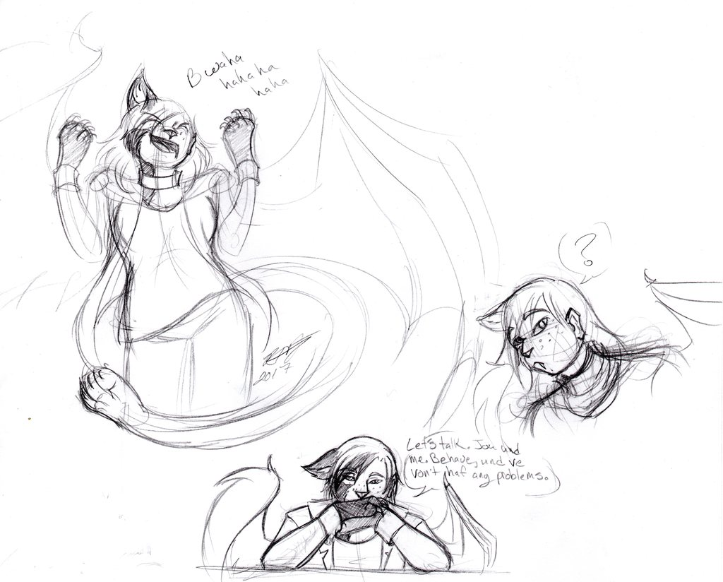 More Ooc Sketches