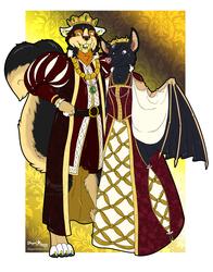 Ye Olde Ren Faire Wing-it: King and Queen