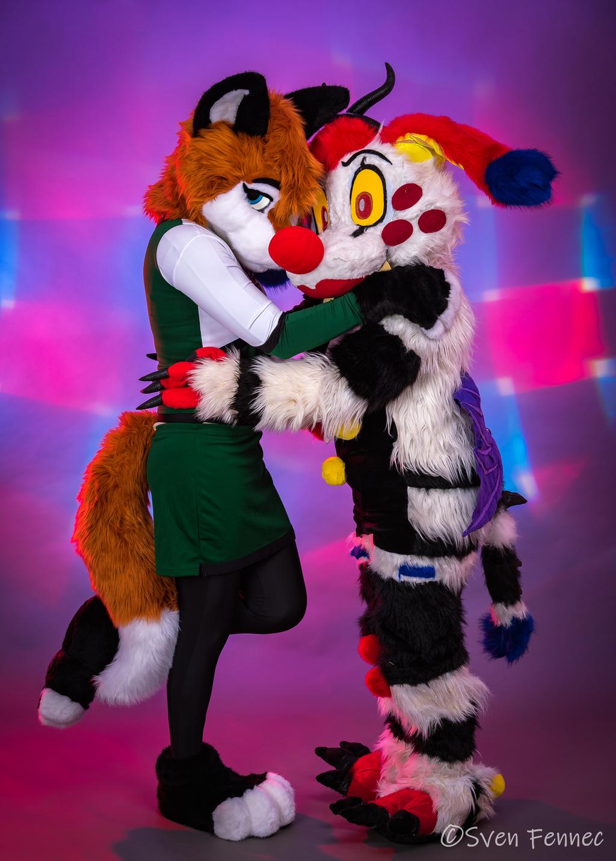 Fox And Clown Snugs