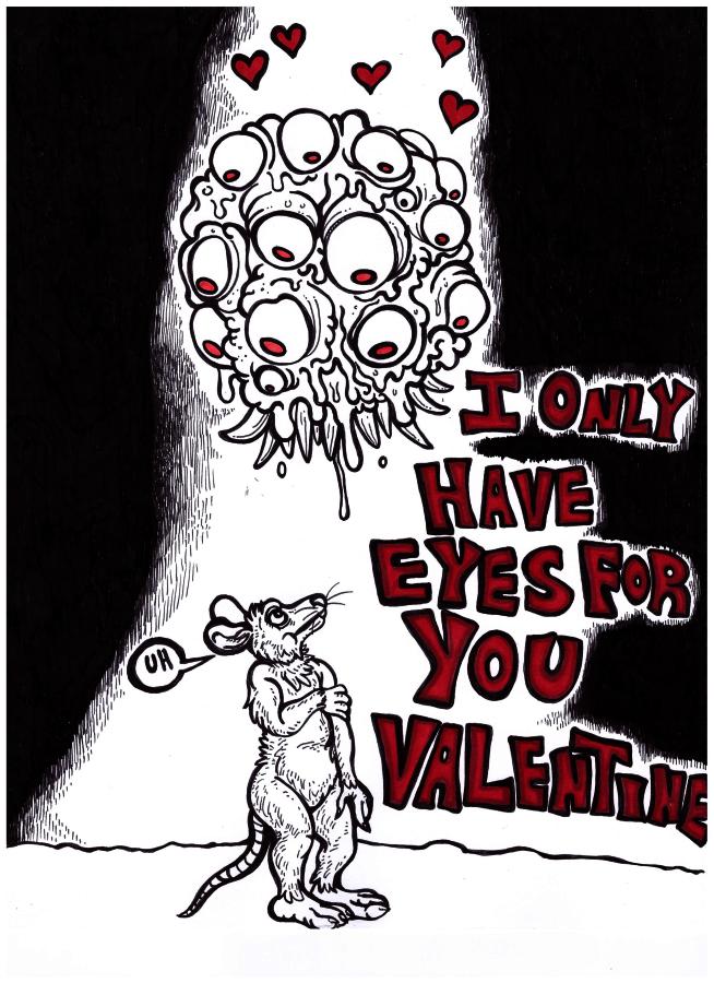Valentine's Day Eye Puns