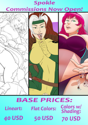 ***All Commissions Spots Locked in***