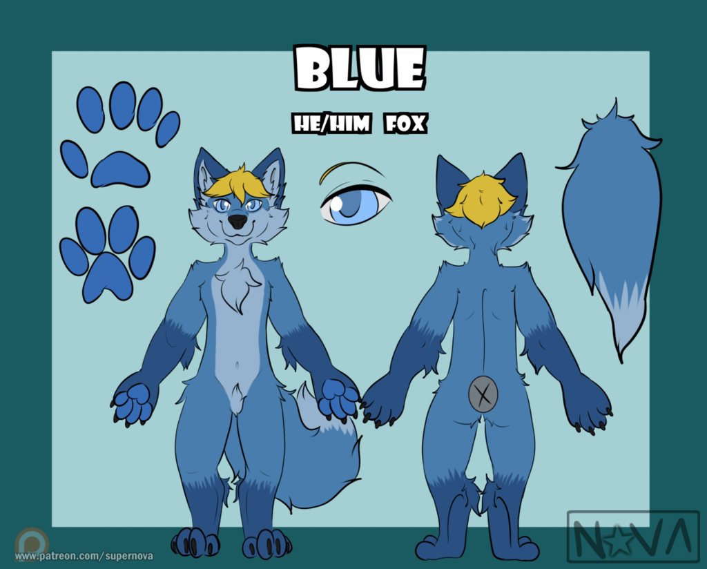 Blue - Chibi Reference
