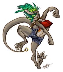 Komodo Dragons Disregard Anatomy